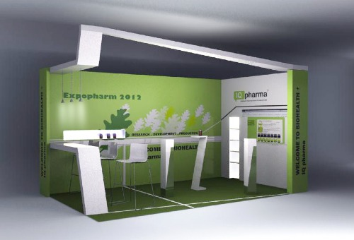 Expopharm, Messestand
